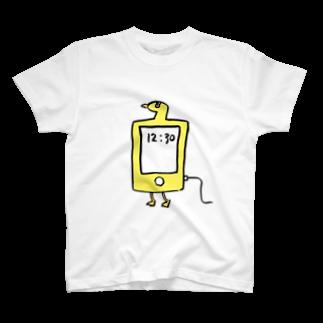 TORISUKIのスマホ鳥 T-shirts