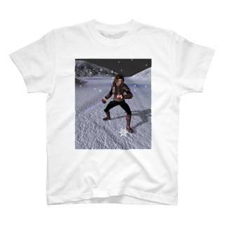 吹雪く戦闘 T-shirts
