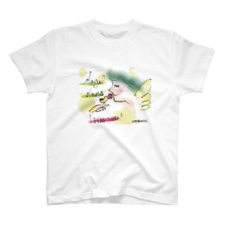 Ang1 小鳥とエンジェル2 T-shirts
