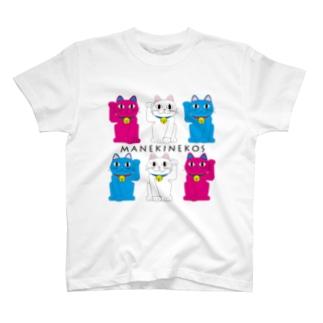 まねきねこズ T-shirts