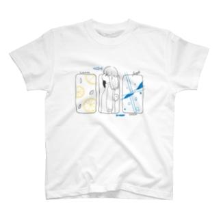 レモンとソーダ T-shirts