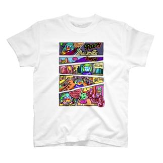 アメコミ風ピリンちゃんお買い物テーマ T-shirts
