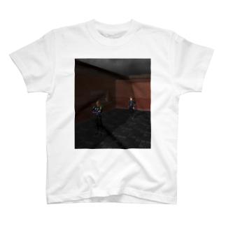 青の進路 T-shirts