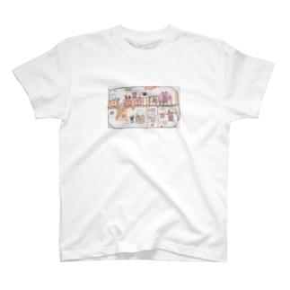 冬眠中のくま生活 T-shirts