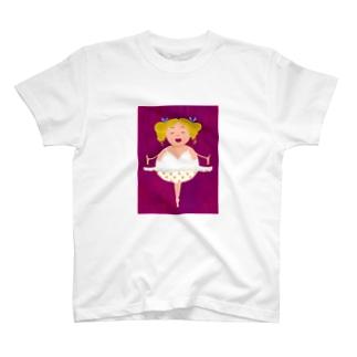 まるっちょバレエダンサー T-shirts