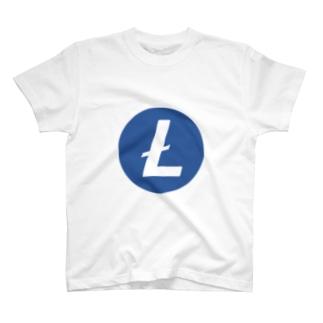 Litecoin ライトコイン T-shirts