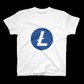 OWLCOIN ショップのLitecoin ライトコイン T-shirts