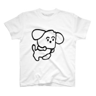 旅する犬 T-shirts