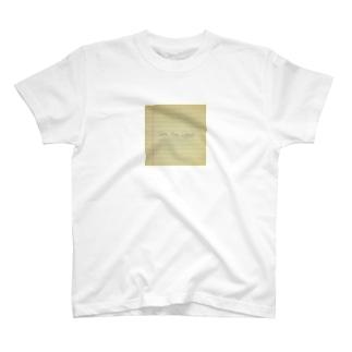 TYC  メモ T-shirts