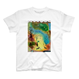 ムラナギ/森の探し方についての本 T-shirts