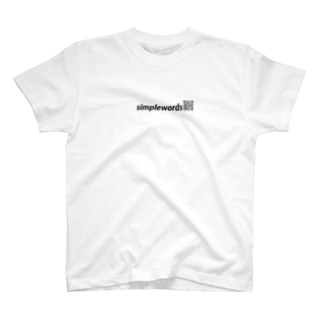 simplewords QRロゴT T-shirts