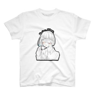 逃避少女(マスクver.)  T-shirts