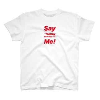 【片面印刷】Birthday T-shirt  T-shirts