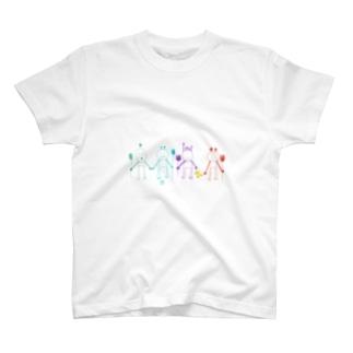 ピヨちゃん.タキタキ.ぼんちゃん.雪男くん T-shirts