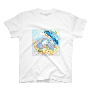アジサイクラゲ T-shirts