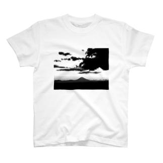 マウントフジ T-shirts