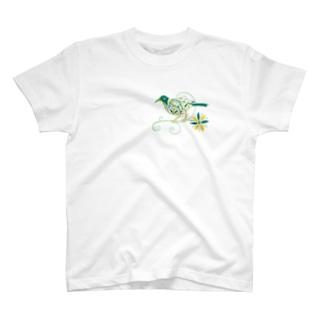 エスニックバード T-shirts