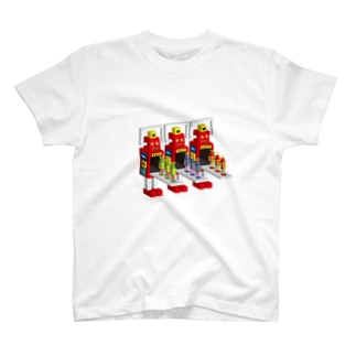 SUPER ROBOT MAKERS T-shirts