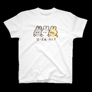 くぅもんせのお店のU・SA・GI! T-shirts