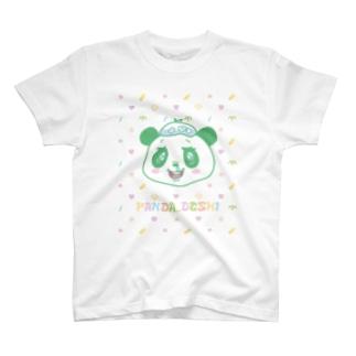 パンダでし。 T-shirts