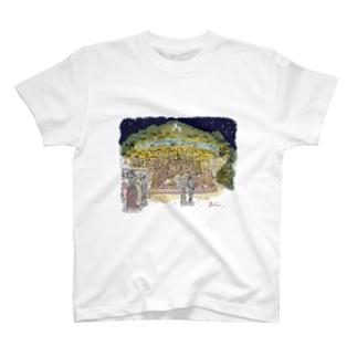 真夜中のメリーゴーランド T-shirts