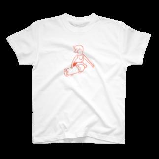 つまようじのYAKATAのJUMP! Tシャツ
