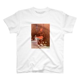 色箔と銀箔 T-shirts