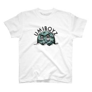 妖怪「海坊主」 T-shirts