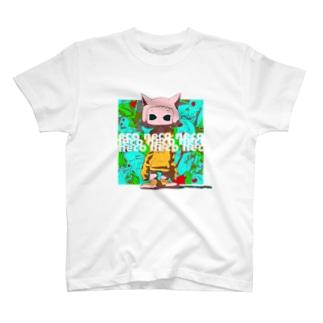 neco neco neco T-shirts