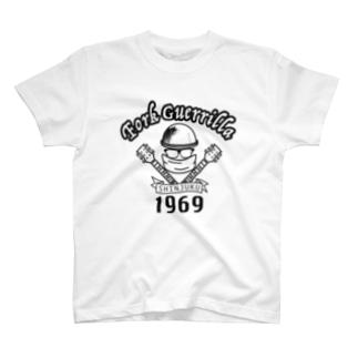 Fork Guerrilla 新宿1969 T-shirts