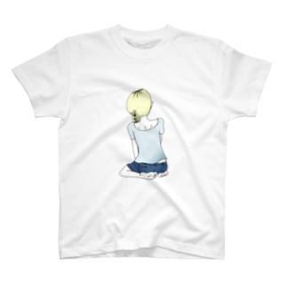 ヘタリコム女ノ子 T-shirts
