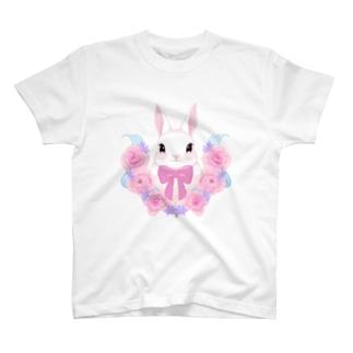 うさぎ:春の訪れ T-shirts