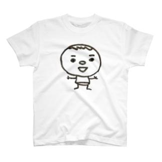 僕の名前はかきまん T-shirts