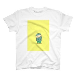 スマホとぼく T-shirts