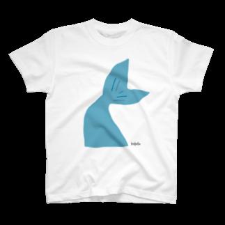 キイロイロのヒレ.碧 T-shirts