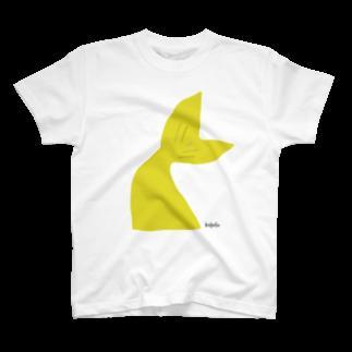 キイロイロのヒレ.山吹 T-shirts