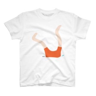 足.橙 T-shirts