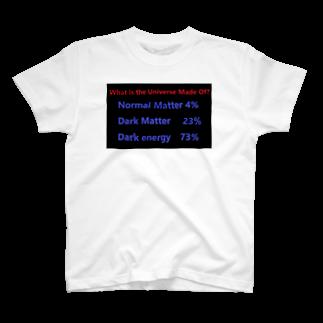 Physicsのダークエネルギー ダークマター 天文学 物理学 理系 T-shirts