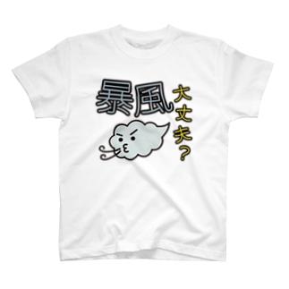 災害用安否確認-暴風大丈夫- T-shirts