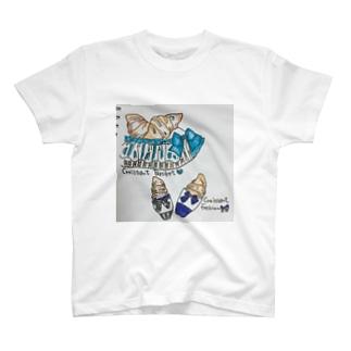 クロワッサンリボン T-shirts