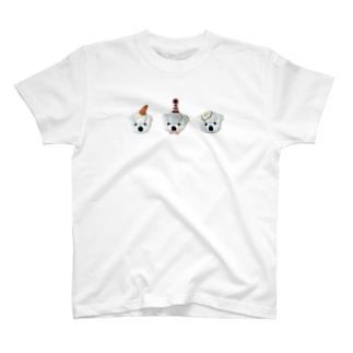 白くま3兄弟 T-shirts