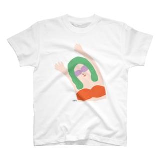 エイミー. 橙 T-shirts