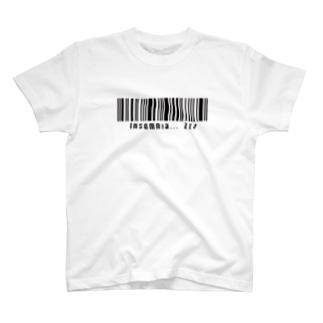 バーコード T-Shirt