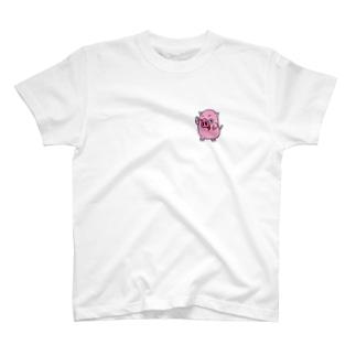ポケっちょTシャツ T-shirts
