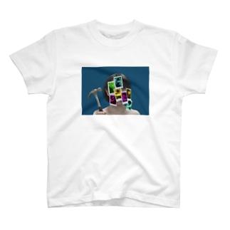 メランコリックをぶち壊せ T-shirts