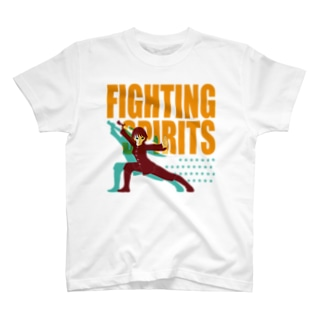 戦う少女~FIGHTING SPIRITS~ T-shirts