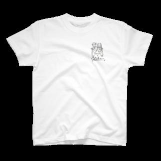 さきもとあきのぶ (イラストレーター)のhave a fika T-shirts