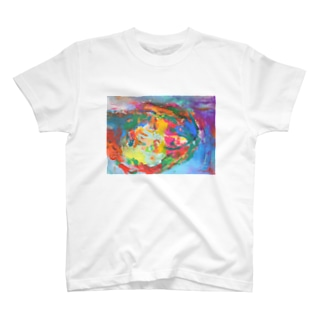 Mottled T-shirts