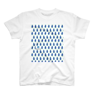 simple blue T-shirts