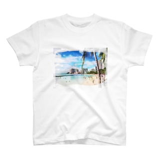 ART HAWAII T-shirts